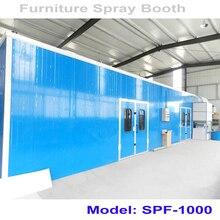 SPF-1000 мебель краски распыления и сушки камеры/камера лакировки мебели краски стенд