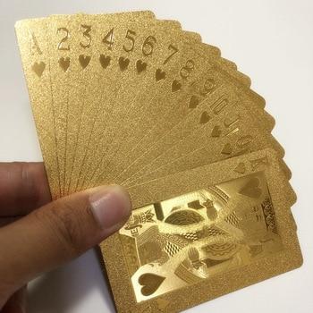 Cartas De póker De plástico, Juego De Cartas mágicas De estrellas