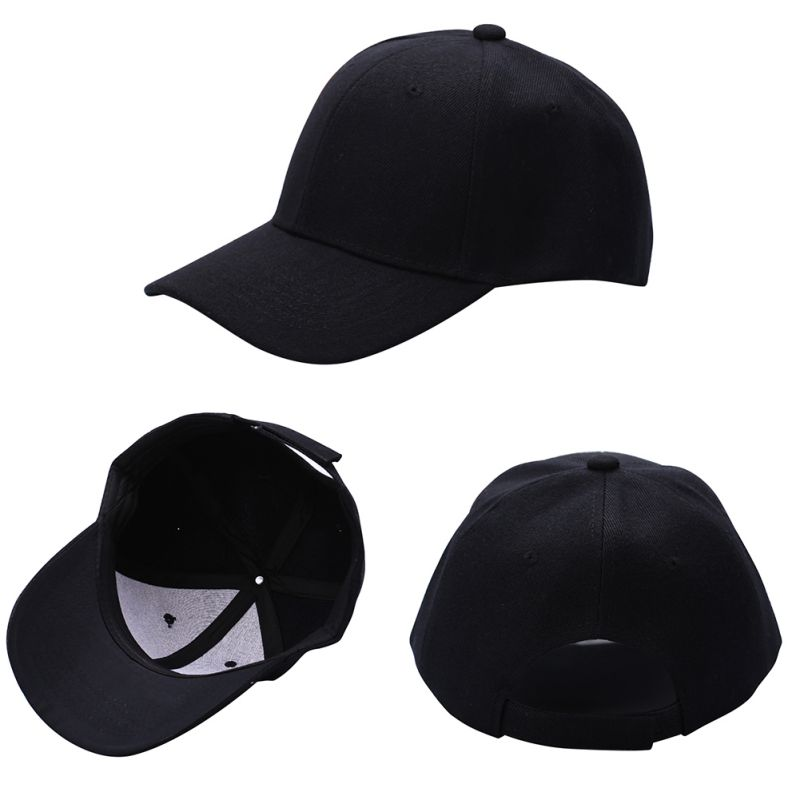 68ed2b70ee058 Fashion Men Women Plain Baseball Cap Unisex Curved Visor Hat Hip Hop  Adjustable Peaked Hat Visor Caps Solid Color 15-in Baseball Caps from Men s  Clothing ...
