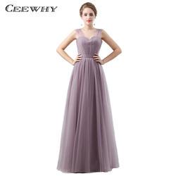 Ceewhy Милая Vestidos DAMA de Honor Свадебная вечеринка платье элегантные платья невесты длинные платья для Для женщин festa de Casamento