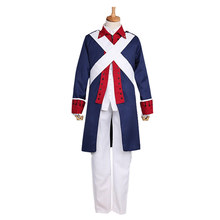 Anime Hetalia Axis Powers American Revolution Military  Uniform Cosplay Costume Halloween