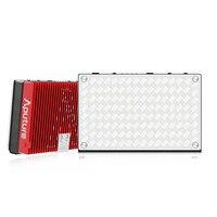 Aputure Amaran AL MX небольшой про светодиодный на Камера видео TLCI/CRI 95 2800 6500 К из металла карманный свет со встроенным Батарея