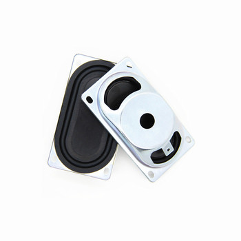 2PCS 90x50mm track type bass diaphragm passive plate reinforced bass low frequency film radiator rubber diaphragm Home Automation Modules