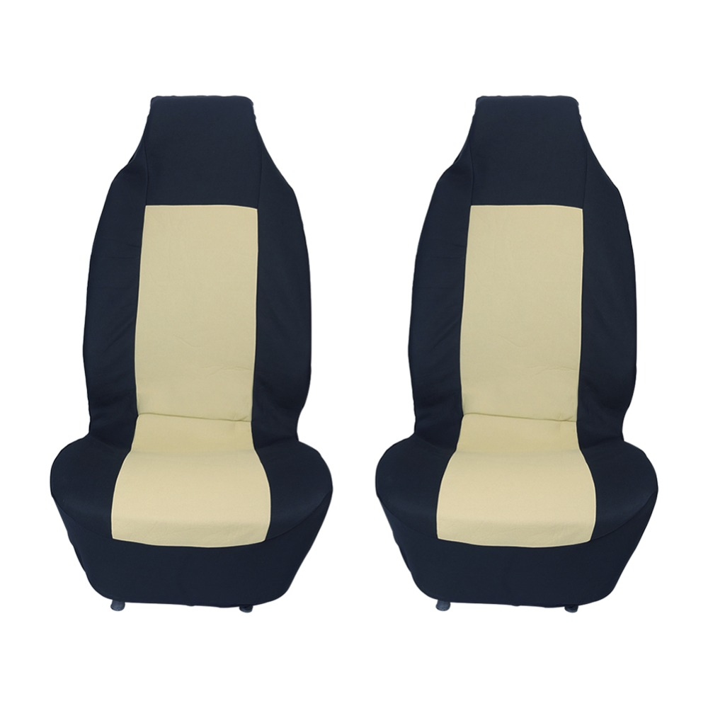 Styling Seat Cover 1 Pair Car Seat Pads Protectors Cotton Car Front Seats Covers