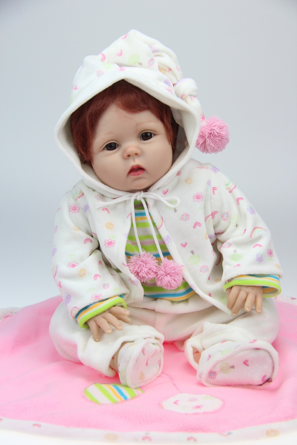 цены Wholesale realistic simulation reborn baby doll soft silicone vinyl real gentle touch newborn