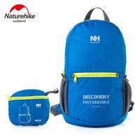 2016 NatureHike Laptop Backpack Fashion Letter Print Portable Waterproof Climbing Ultralight Bright Backpacks Women Travel 15L