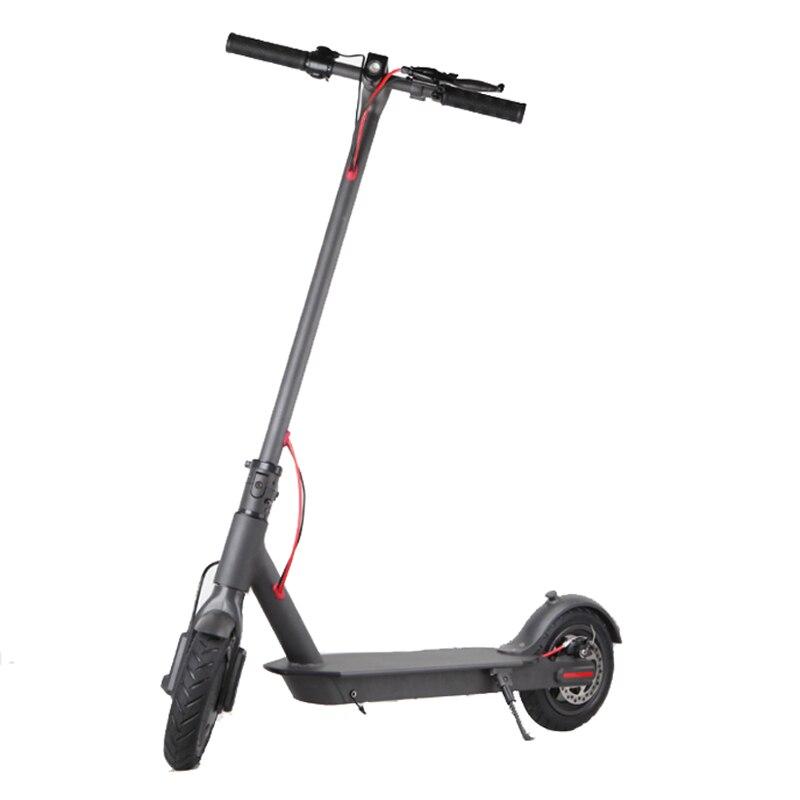 Scooter électrique de 8.5 pouces pliant le scooter d'alliage d'aluminium de hoverboard 2 roues debout la planche à roulettes électrique intelligente de hoverboard rapide