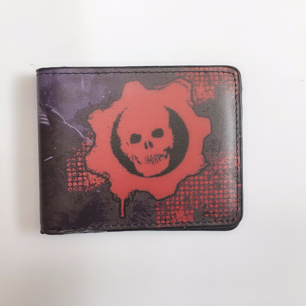 Anime Cartoon Wallet Gears Of War Silica Gel Wallet 2017 New Free Shipping XY0080