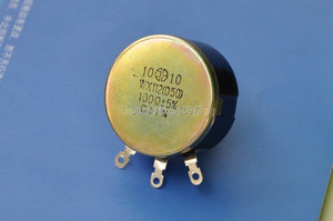 Image 4 - (2 pcs/lot) 100 OHM 5W Wirewound Rotary Potentiometer, WX112(050) Pots, 5 Watts.