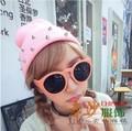 5 pieces Knitted Neon Women Men Beanie Girls Autumn Casual Cap Studded Rivets Warm Winter Hats Unisex 19 Fluorescent Colors
