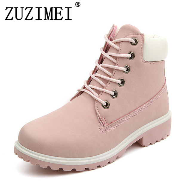 5e2a867c8628ef Plus size 2018 autumn and winter boots Martin boots various colors women s  clothing yellow boots outdoor