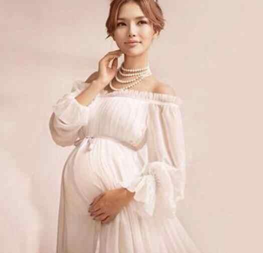 e5fb989f853f8 Hot Maternity Mama Gown Eyelashes Lace Transperant Maternity Dresses Studio  Photo Shoot Clothes Maternity Photography Props