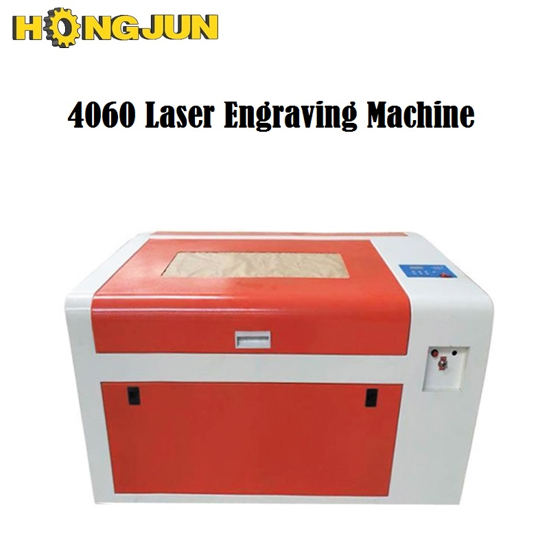 HONGJUN 6040 50w CO2 <font><b>laser</b></font> engraving machine <font><b>4060</b></font> <font><b>laser</b></font> cutting machine 60*40cm USB port , best price image