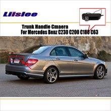 Car Rear View Camera For Mercedes Benz C230 C200 C180 C63 AMG / Reverse Camera / HD CCD RCA NTST PAL / License Plate Lamp OEM цена