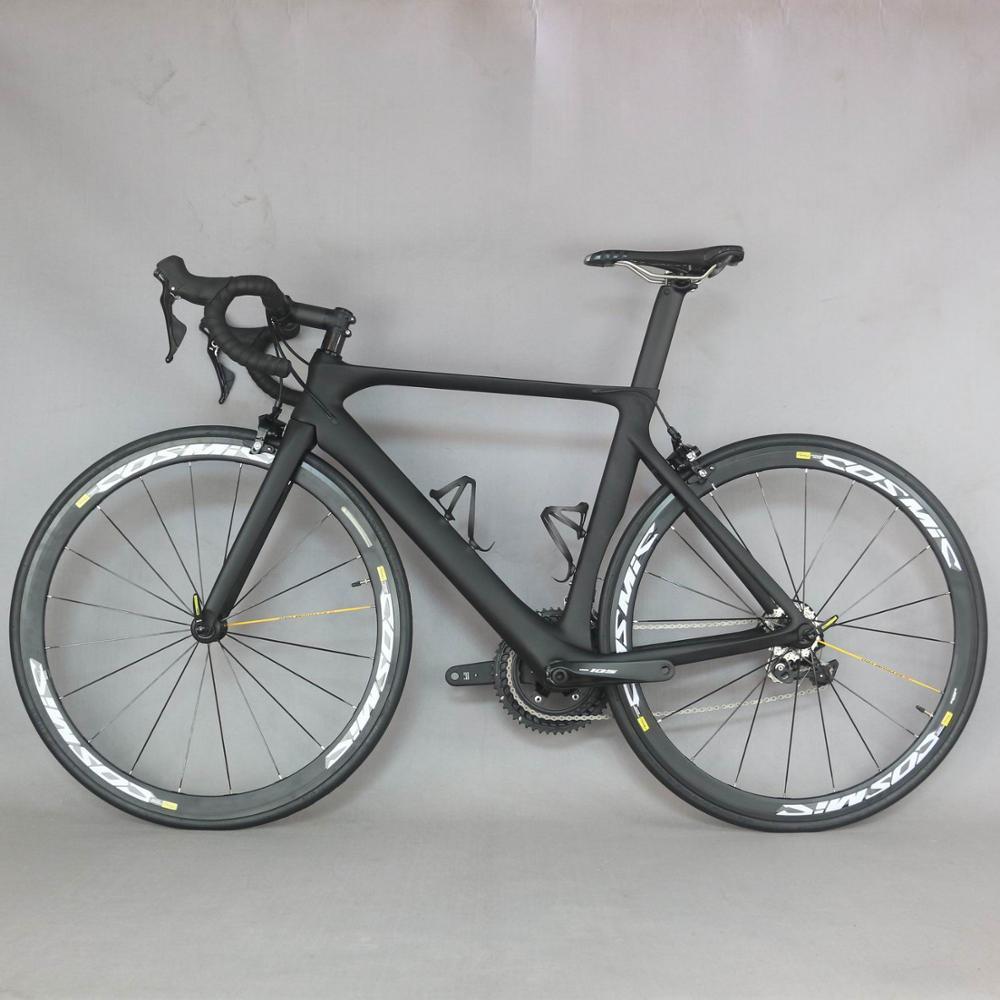 Vélo complet vélo de route vélo de route BICICLETTA SHIMAN R7000 Bicicleta avec MAVIC cosmique Elite S700c