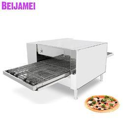 BEIJAMEI handlowa przenośnik elektryczny piec do pizzy/elektryczny piekarnik do pizzy maszyna do robienia pizzy dla wyposażenie piekarni