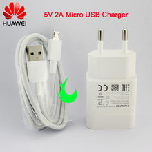 Original Huawei 5V 2A Charger Adapter Micro USB Data Cable For Honor 8/9 Lite 7A 7C 7X 6A 6C 6X 5X 4C P8 P9/P10 Lite Mate7 8 Y6(China)