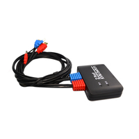 2 Port Usb Hdmi Kvm Switch Switcher With Cable For Dual Monitor Keyboard Mouse Hdmi Switch Support Usb U Disk Read
