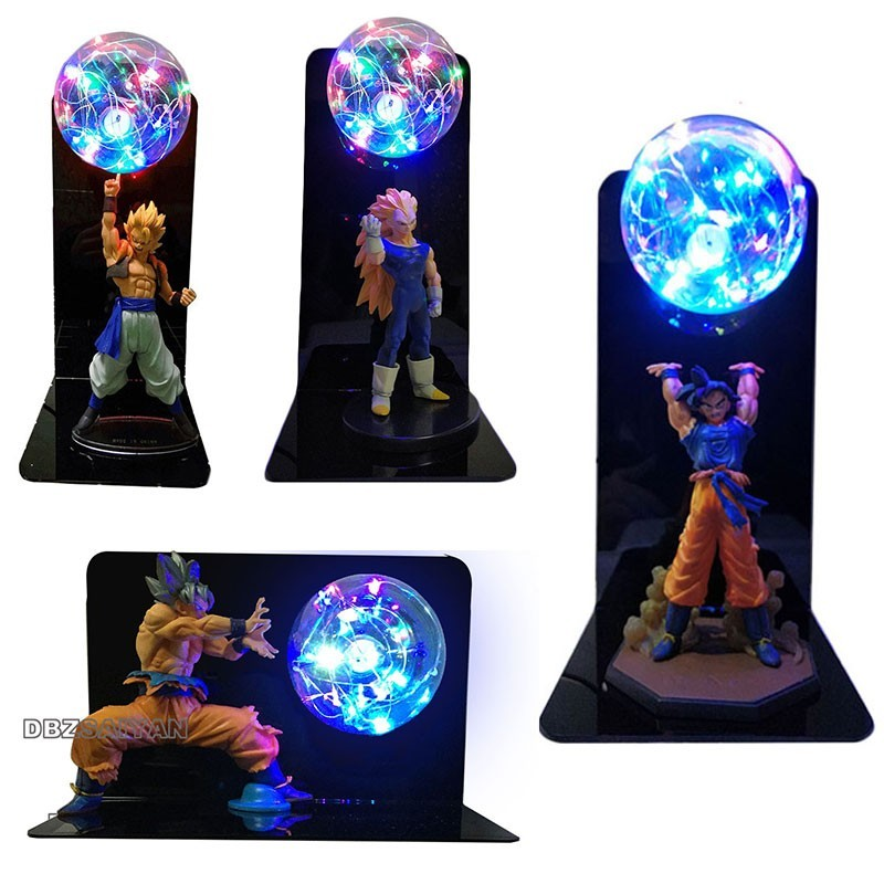 Dragon Ball Super Goku végéta gogeta gohan veilleuse Ultra Instinct Goku tortue qigong lampe à LED décoratif chambre enfant cadeau