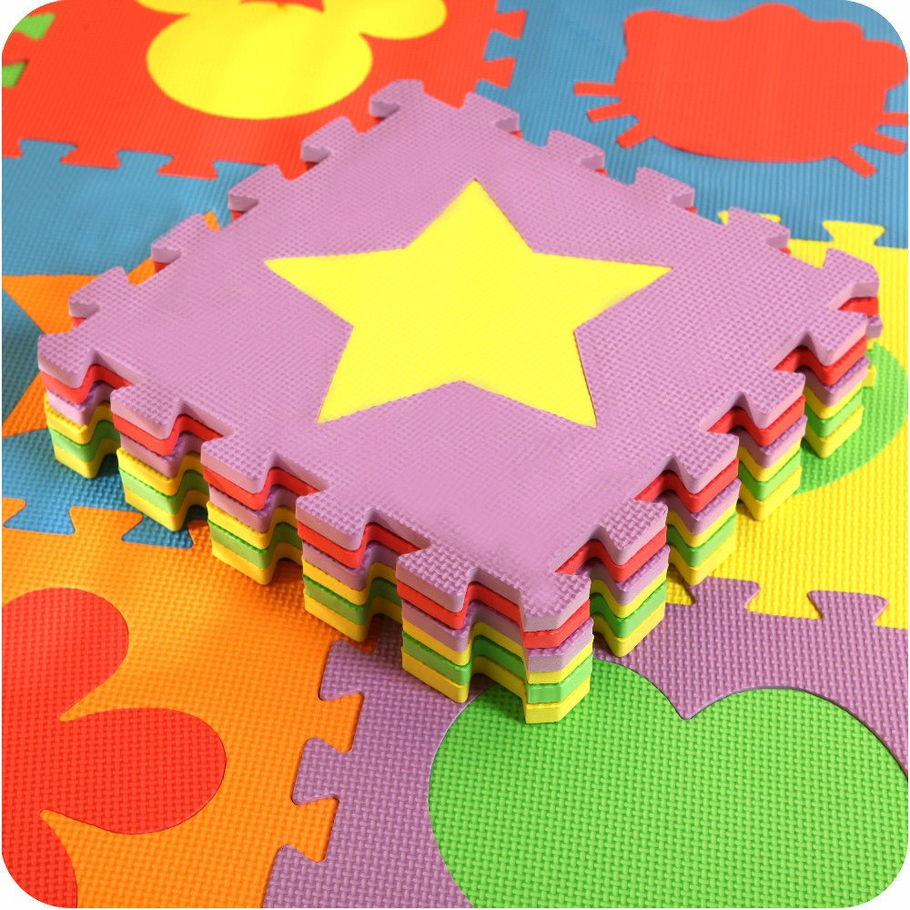 Երեխաների անվտանգ փափուկ Eva Foam Puzzle - Խաղալիքներ նորածինների համար - Լուսանկար 1