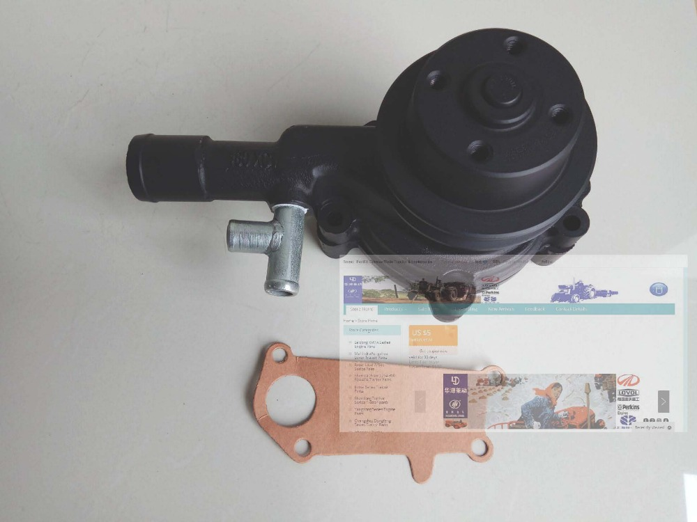 Water pump for Yangdong Y380T,Y385T, YD480 and YD485, part number: Y385T-11103 the crankshaft with set of main bearing rod bearing and thrust ring for yangdong ynd485q ynd485t part number