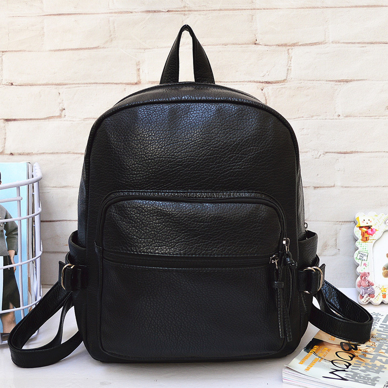 Big Simple Classic you like - Women backpack shopping lady bag popular spring and summer PU Litchi style bags free shipping