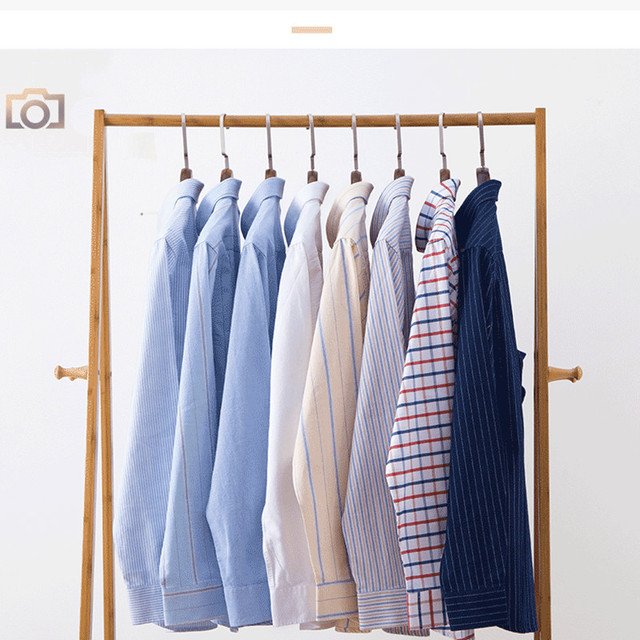 Mens Casual Shirts Fashion Cotton Business Plaid Dress Shirt Soft Comfortable Checkered Button Up Long Sleeve Male Clothing 4XL