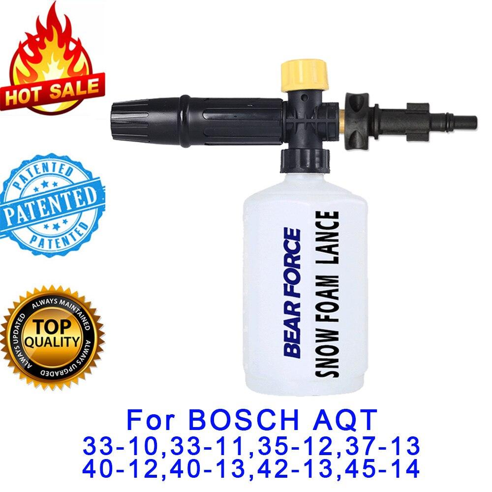Seife Schäumer Gun/Schnee foam lance Düse/schaum generator/Auto Waschen Shampoo Sprayer für BOSCHE Hochdruck washer