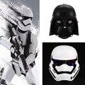 2 Цвета Маски Звездные войны Свет Штурмовика Маска Шлем Платье, Костюм Halloween Masquerade Партия Косплей Черный/Белый