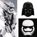 2 Colors Mask Star Wars LED Light Stormtrooper Mask Helmet Dress Up Costume Halloween Masquerade Party Cosplay Black/White