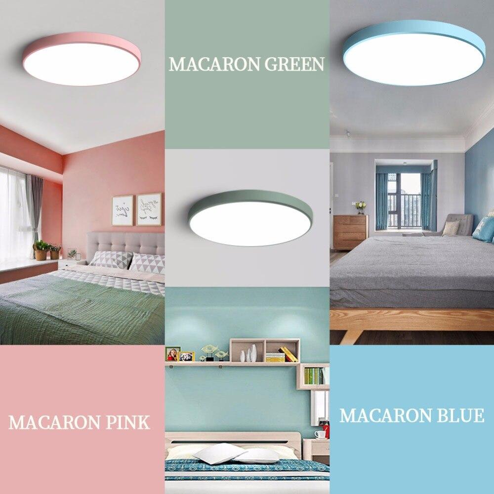 LED Ceiling Light Modern Panel Lamp Lighting Fixture Living Room ...