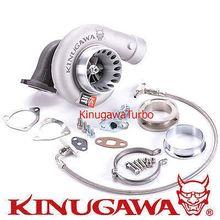 Turbocharger Kinugawa 4 Anti-surge T67-25G Oil Cooled Triangle Cast / Billet wheel