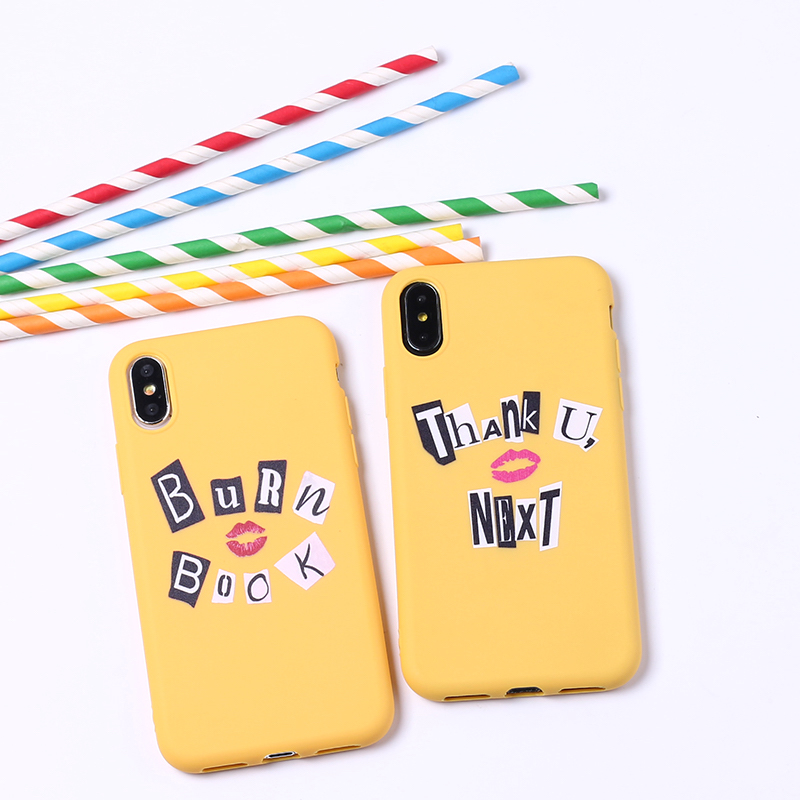 Thank You Next Ariana Grande 7 Rings Soft Silicone Candy Case Coque For iPhone 11 Pro 6 6S 8 8Plus X XR XS Max 7 7Plus 8Plus 1