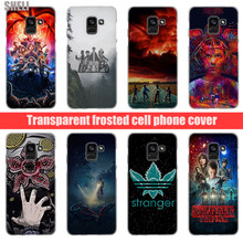SHELI Stranger Things Transparent Hard Case for Samsung Galaxy A3 A5 2017 A6 A7 A8 2018 plus Galaxy Note 9 8 5 4 A9(China)