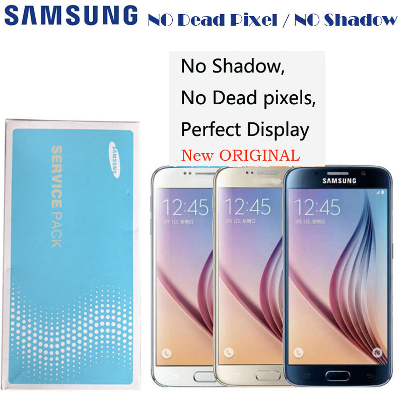 2560 1440 5 1 Original Display For Samsung galaxy S6 G920 G920i G920P G920f G920V G920A