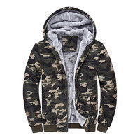 Sudaderas Hombre 2015 Brand Clothing Camouflage Hoodies Tracksuits Velvet Fleece Thick Camo Mens Hoodies And Sweatshirts