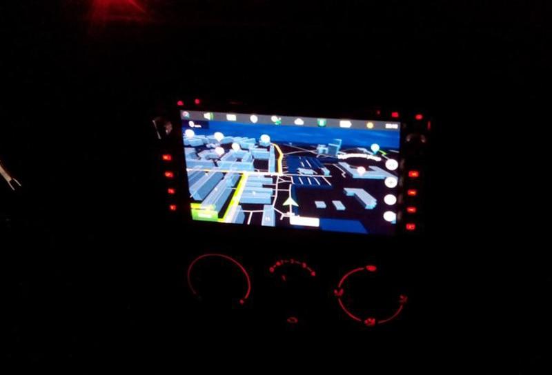 Auto VW GPS Stop118