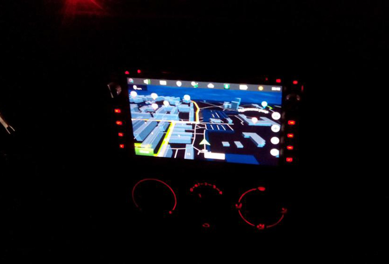 2DIN GPS United Car