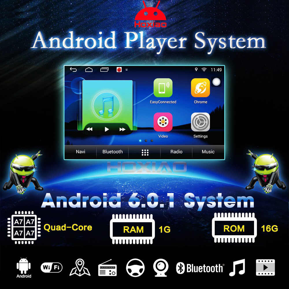 Android 6.0 Car GPS Navigation for Kia RIO K2 2010 2011 2012 2013 2014 2015 Support WIFI DVR camera 2 din Car multimedia player