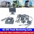 720P HD мобильный телефон позиционирование удаленный мгновенный мониторинг SD карта Запись хранения 4G GPS грузовик комплект мониторинга автобу...