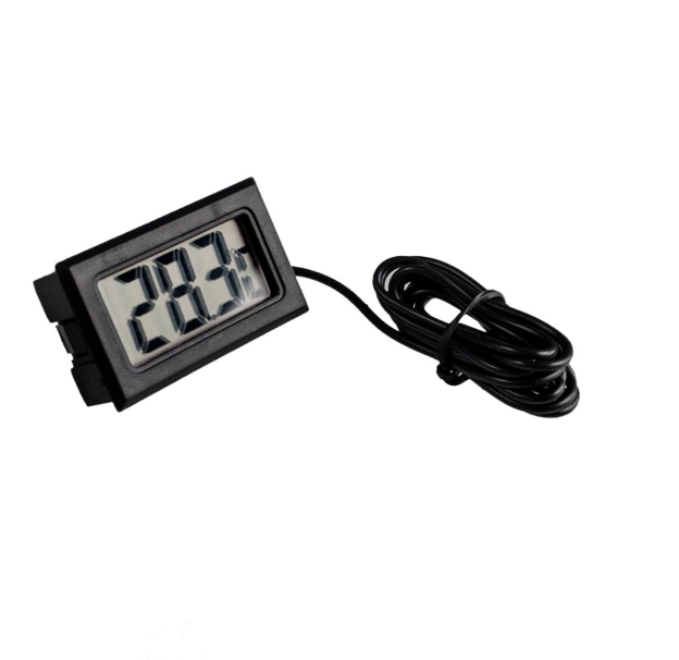 LCD Display Car refrigerator aquarium fish tank embedded electronic digital thermometer Free shipping