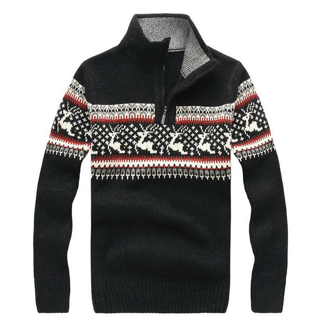 5 Colors 2016 Winter New Man Casual Sweater men Turtleneck Pullovers Knitted Clothing Mens Sweaters