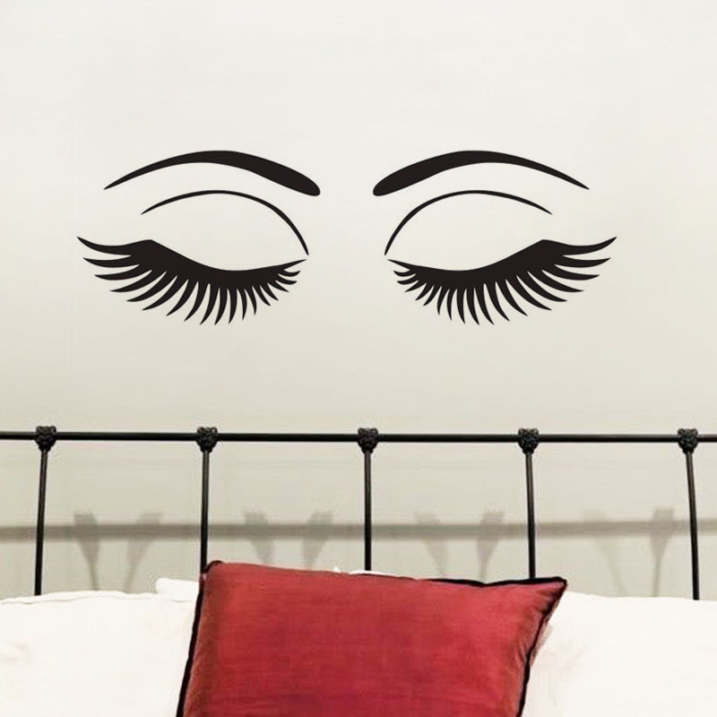 Online Buy Wholesale Eyes Wall Decal From China Eyes Wall Decal - Wall decals eyes