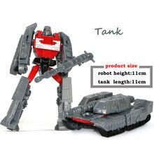 HOT Sale 10 CM Transformasi Robot Mobil Mainan Mobil Anak Klasik untuk Anak Aksi & Toy Angka Plastik Pendidikan Boy'S Hadiah baru