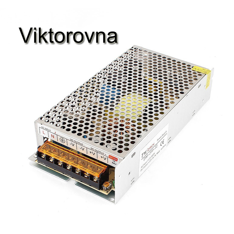 все цены на LED Power Supply Transformer 5A 10A 20A 50A LED Driver Switching AC 110V 220V to DC 12V 24V CCTV LED Strip Power Supply Adapter онлайн