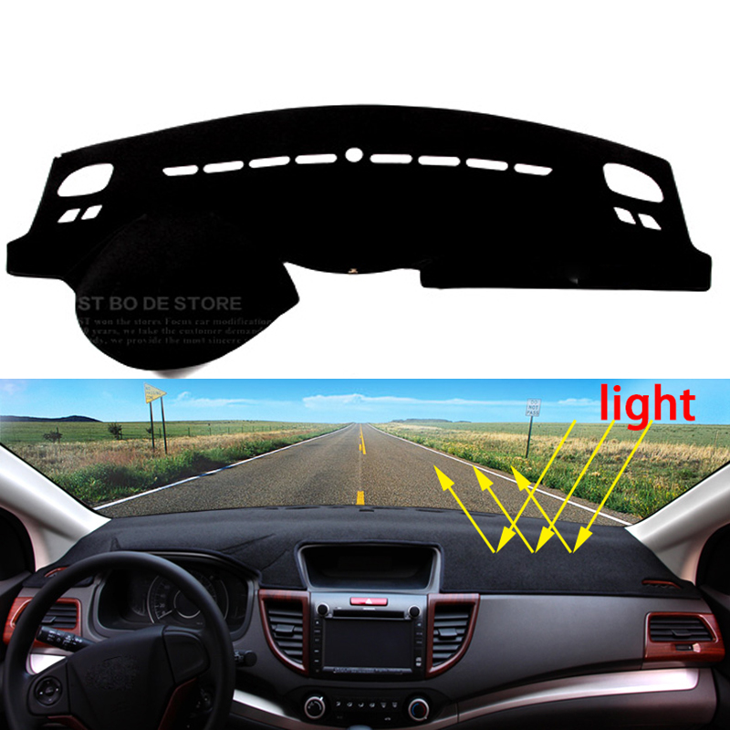 Car dashboard Avoid light pad Instrument platform desk cover Mats Carpets Auto accessories for Peugeot 408  2010 - 2016 dashboard cover