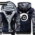 H0019 New Winter Warm Fullmetal Alchemist Hoodies Anime Hooded Coat Thick Zipper men cardigan Jacket Sweatshirt