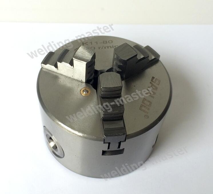 K11-80 3 pofás eszterga tokmány hegesztő pozícionálóhoz, fúró - Szerszámgépek és tartozékok - Fénykép 4