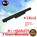 Wholesales New 4CELLS laptop battery For HP Pavilion 14  15 Ultrabook  Series   694864-851   HSTNN  YB4D   VK04  FREE SHIPPING