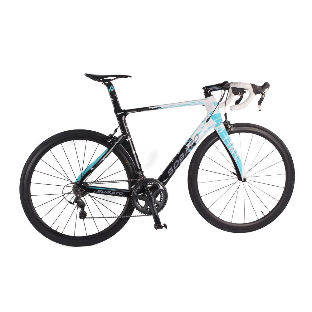 Precio al por mayor  sobato de carbono bicicleta de carretera bicicleta completa